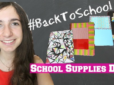 BackToSchool #1 | School Supplies DIY ♥