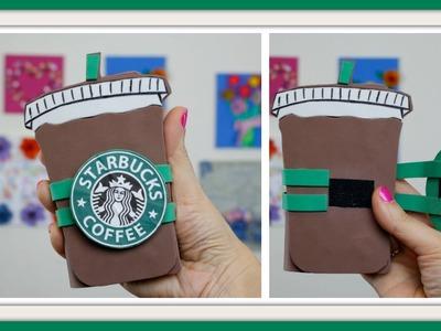 Capinha Starbucks  - usando EVA e caixa de leite - DIY