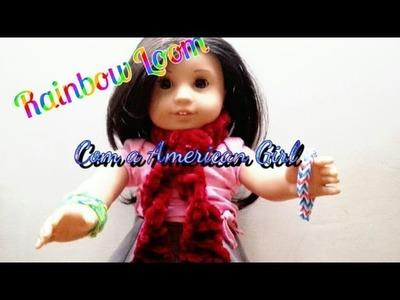 Como fazer Rainbow Loom com a American Girl