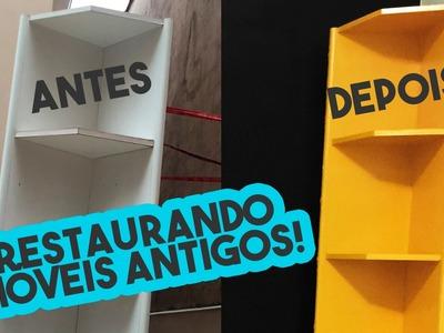 #DIÁRIODEDECORAÇÃO | D.I.Y REFORMANDO MÓVEIS ANTIGOS - Por Nathália Nogueira