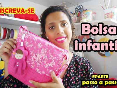 DIY Bolsa Infantil Passo a passo Parte 1