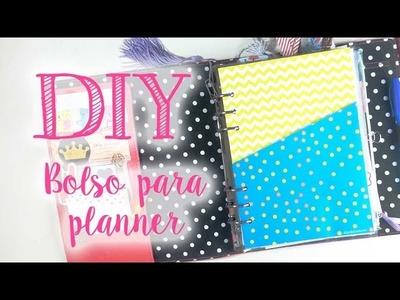 DIY - Bolso para planner + download