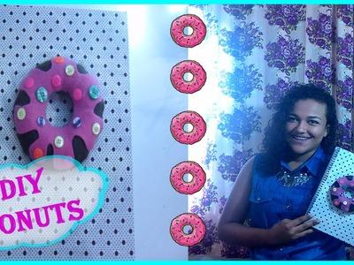 DIY caderno de donuts   Especial volta as aulas