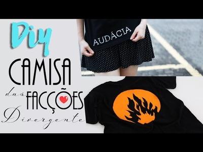 DIY: Camisa das Facções - Divergente | Audácia