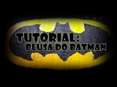 DIY: Camisa do Batman.