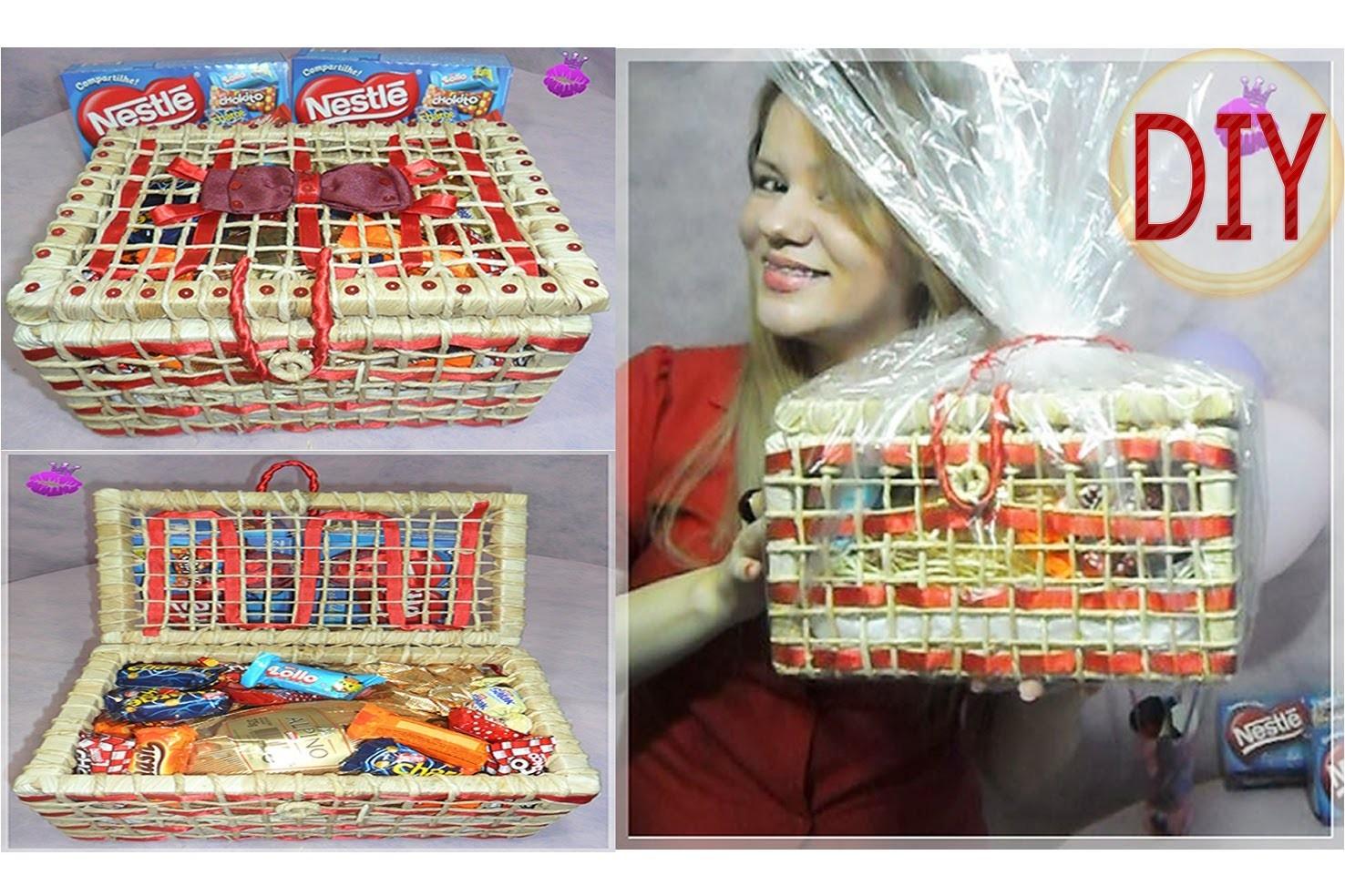 ✂DIY | Como Fazer Presente de Páscoa: Embalagem Bonita e Barata