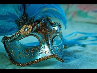 Diy: Como Fazer uma Máscara de Carnaval Feminina#2 #4temp