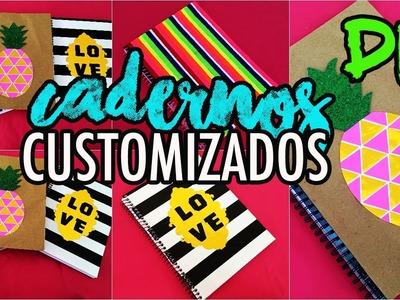 Diy:  Customize seu material escolar SEM GASTAR MUITO. De volta as aulas| Tatiane Xavier