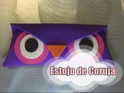 DIY.: Estojo de Coruja