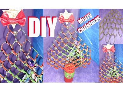 ✂DIY - Faça Árvore de Natal | Feita com Rolos de Papel Higiênico