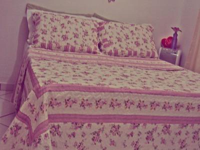 DIY- Faça você mesma Cabeceira para cama