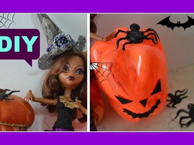 DIY  Faça voce mesma  Mini chapeu de bruxa feito com caixa de leite para o halloween