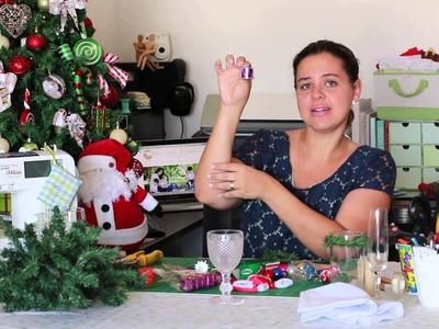 DIY | Faça Você Mesmo - Porta guardanapo personalizado para a mesa de natal