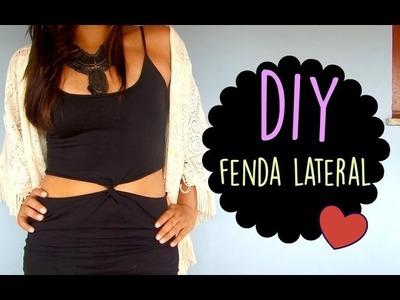 DIY: FENDA LATERAL ♥ ATUALIZADO ♥ Disponível em HD!