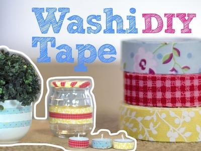 DIY :: Fita adesiva decorada | Washi Tape