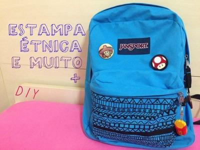 DIY | Ideias para customizar sua mochila velha