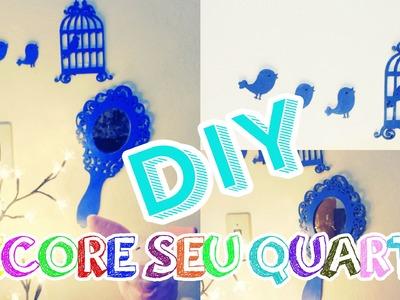 DIY. Itens para decorar seu quarto ♡ | Juju Oliveira ❤ #VEDA9