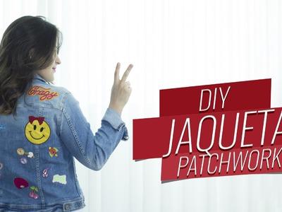 DIY: jaqueta personalizada com patchwork {ou stickers} | Drops das Dez