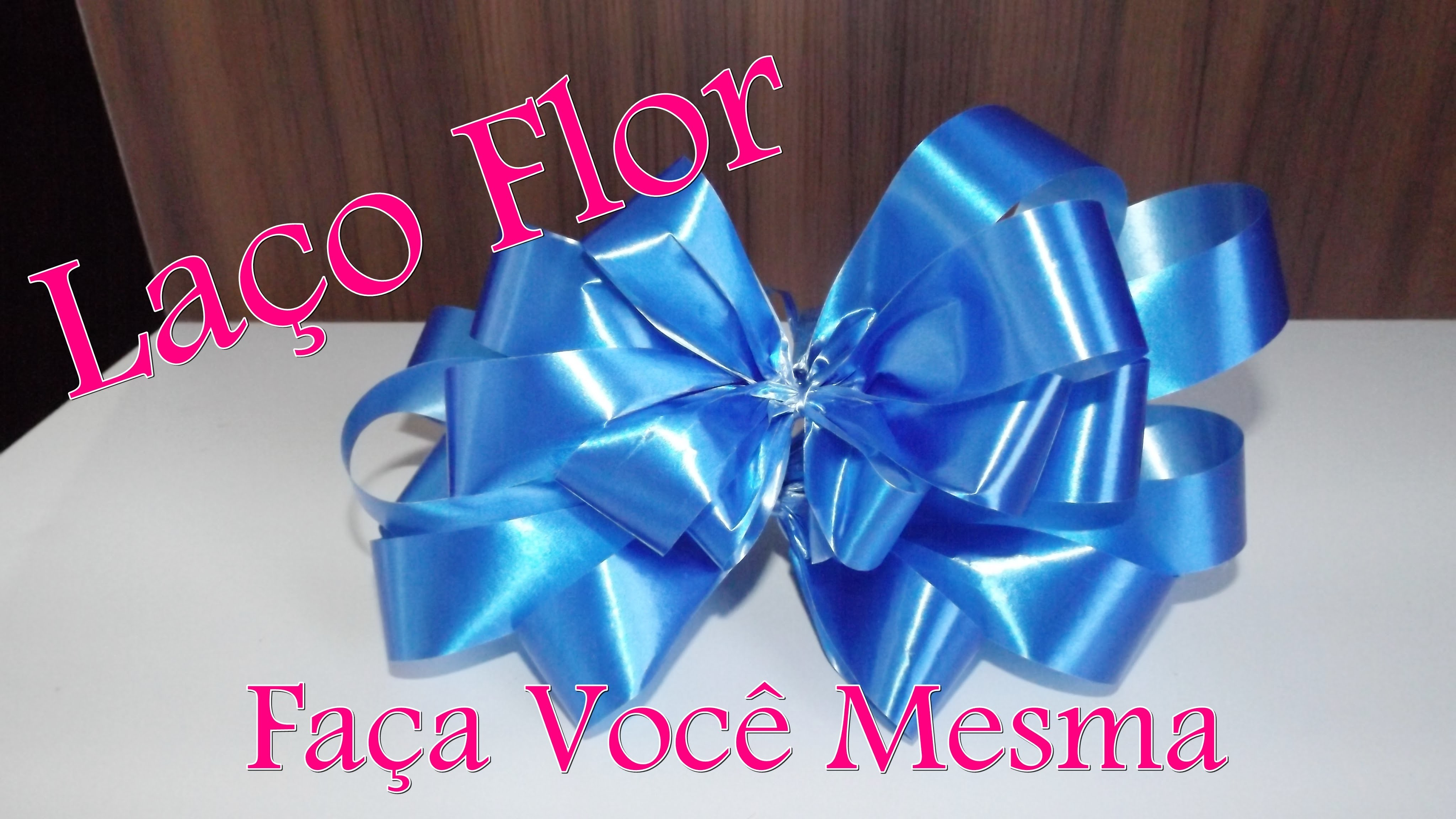 DIY :  Laço Flor