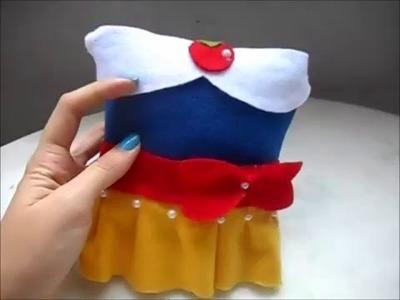 DIY: Mini almofada para lembrancinha