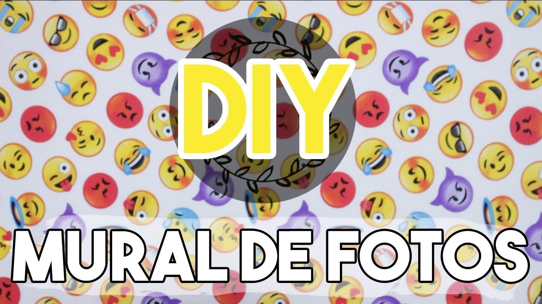 DIY Mural de Fotos de Emoji - Fácil!! + Uma surpresa para vocês ❤