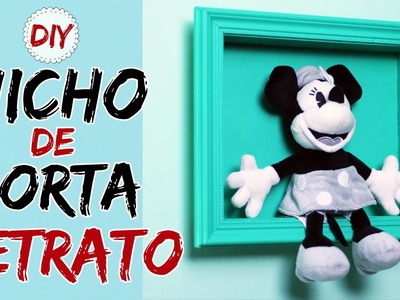 DIY: Nicho Caseiro de Porta Retrato - Nicho Emoldurado