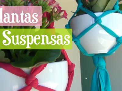 DIY Plantas Suspensas Castroadas