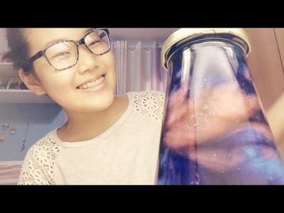 DIY: Pote Galaxy. Bottle Nebula | Arte em Tudo