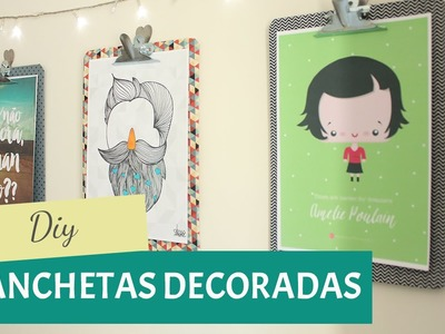 DIY - Pranchetas decorativas