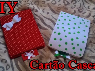 DIY Presente Criativo para Namorado. Cartão Cascata