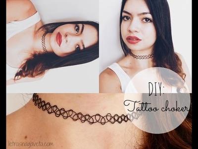 DIY | Tattoo Choker