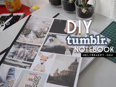 DIY: Tumblr notebook   Melissa Ery