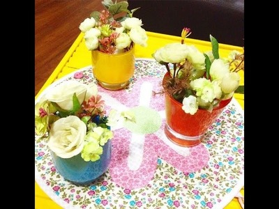 DIY: Vasinhos decorativos e perfumados gastando pouco ou NADA!!!