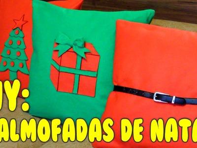 #ENTÃOÉNATAL - DIY: ALMOFADAS FOFAS DE NATAL!