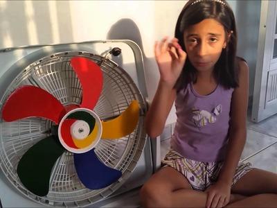 Faça você mesmo (DIY) - Ventilador Arco-iris