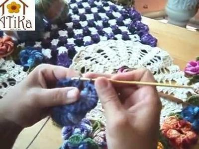 Flor Em Croche Flavia