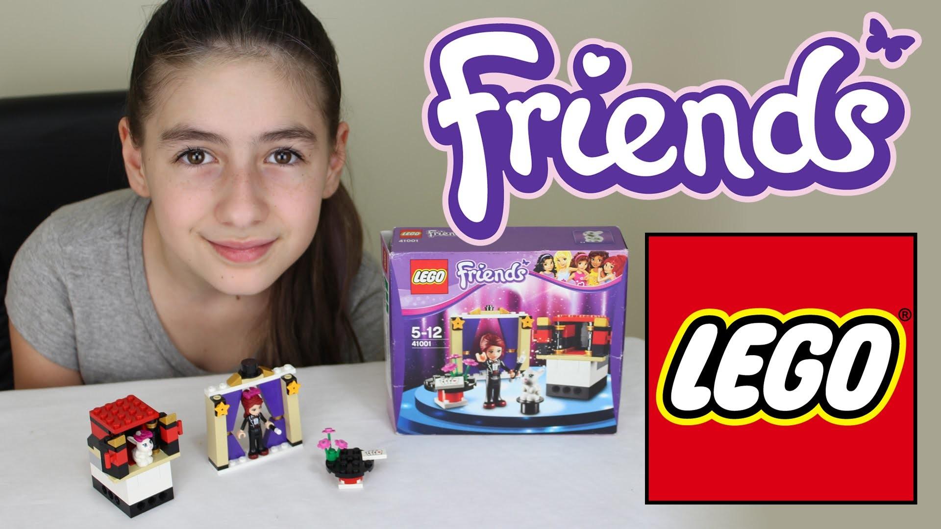 Lego Friends Tutorial Montando e Brincando (Brinquedos, Magico, Mia) Playing (Toys, Magic)