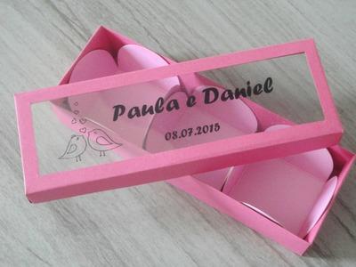 Lembrancinha - Caixinha para doces - DIY
