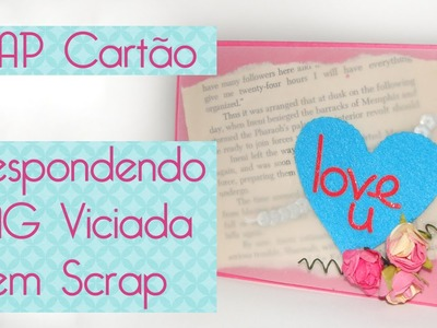 Tag Viciada em Scrap- Scrapbook by Tamy