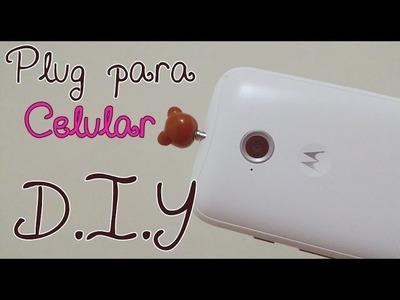 D.I.Y: Plug. Piercing Fofo para Celular | Faça você mesmo