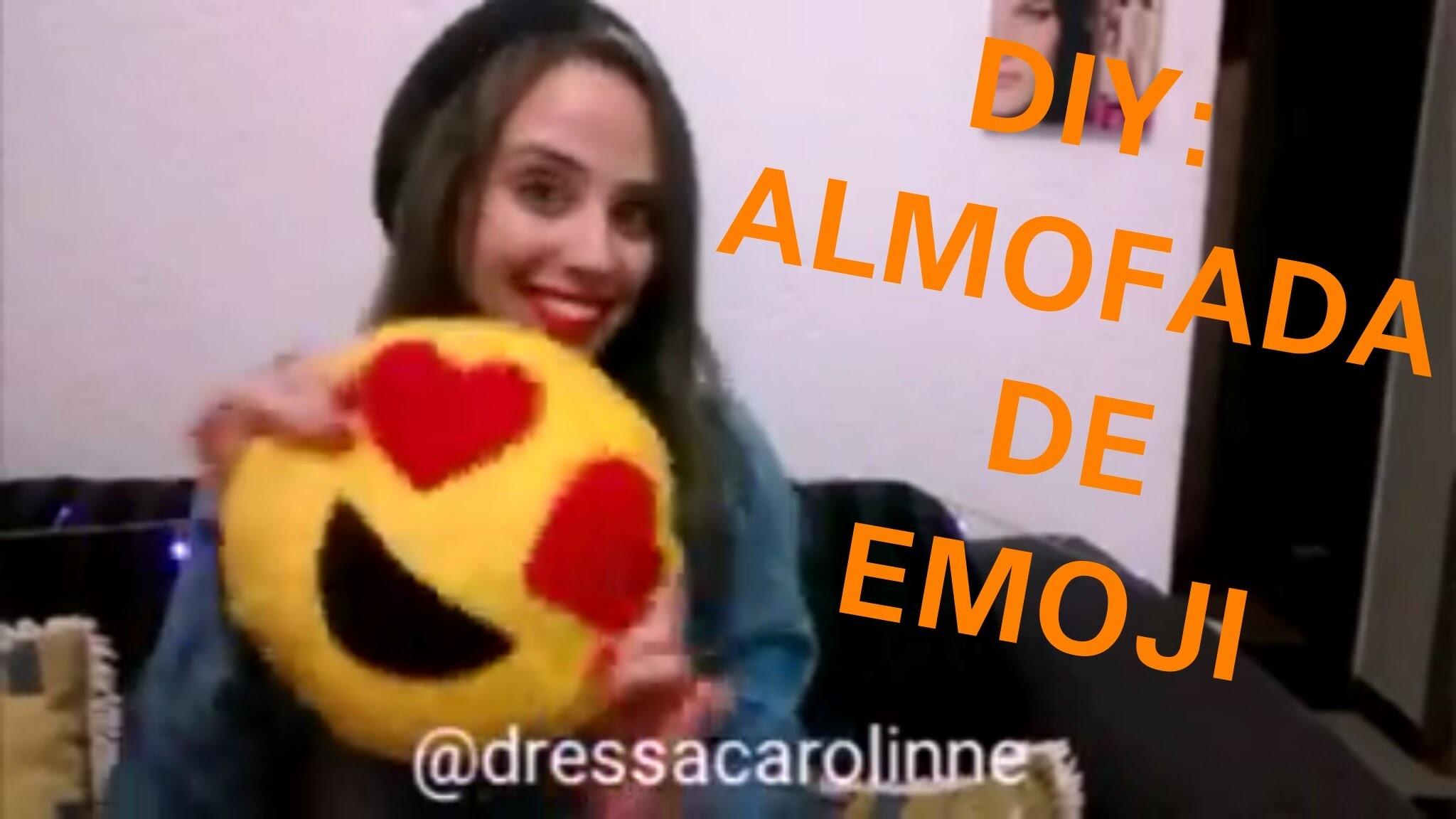 DIY: Almofada de Emoji - FAÇA VOCÊ MESMO!