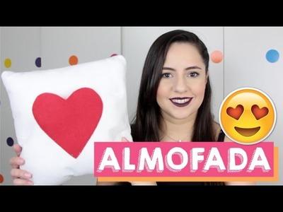 DIY ALMOFADA PERSONALIZADA PARA NAMORADO | FÁCIL E BARATO