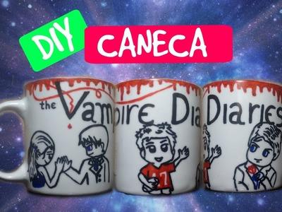 DIY: CANECA THE VAMPIRE DIARIES