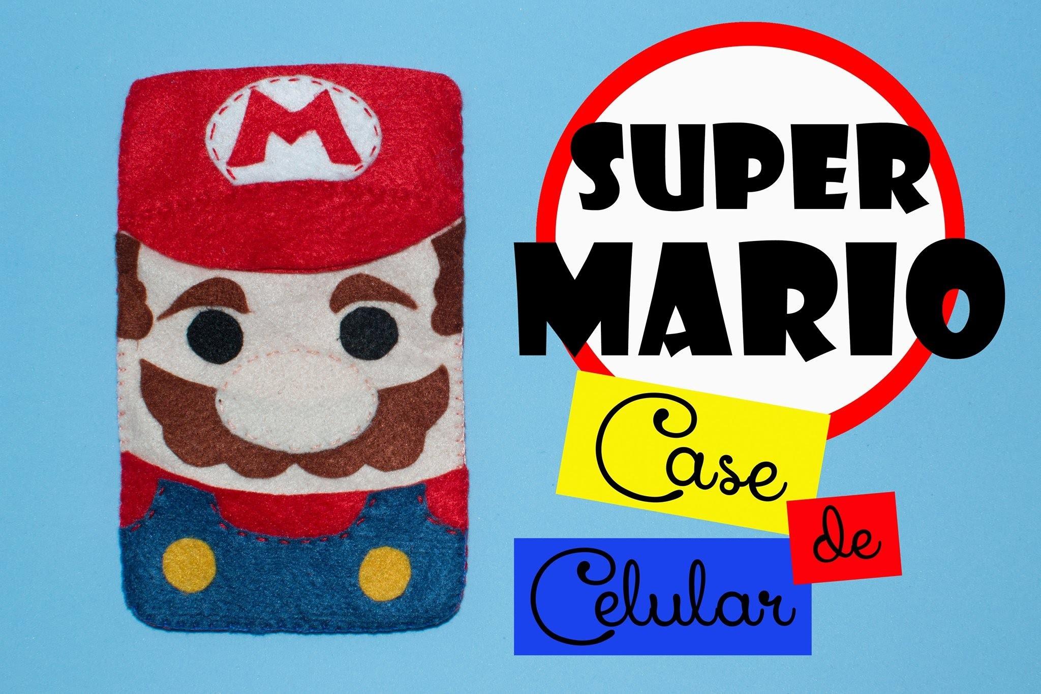 DIY: Case de Celular do Super Mario Bros.
