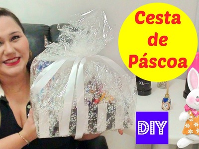 DIY: CESTA DE PÁSCOA