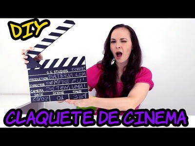 DIY - Claquete de Cinema com restos de madeira! CUSTO QUASE ZERO!