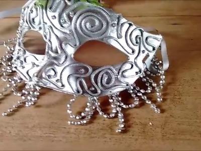 DIY: como fazer uma máscara de carnaval