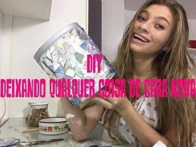 DIY - DEIXANDO QUALQUER COISA DE CARA NOVA! #QUARTONOVO