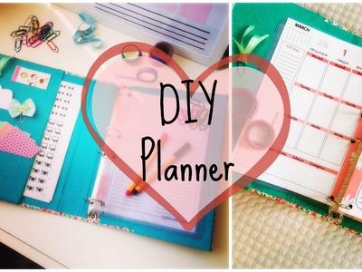 DIY | Faça seu próprio planner
