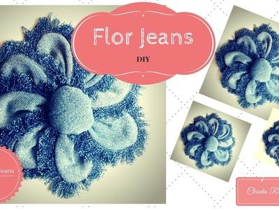 DIY - Flor Jeans